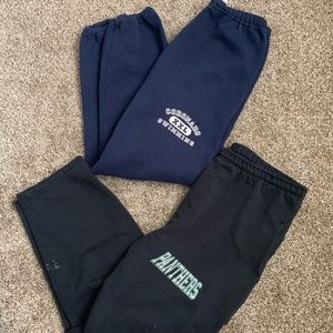 Pants - Bundle blue/black sweats size L